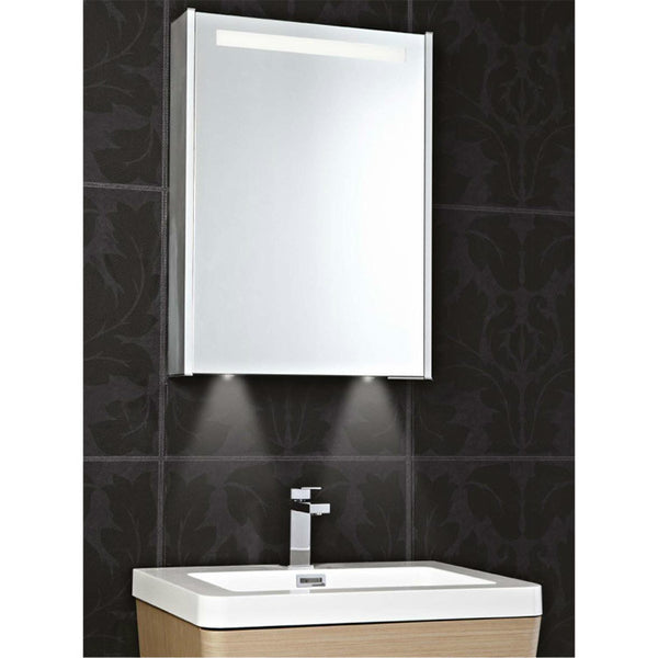 Phoenix Mercury Single Door Bathroom Cabinet