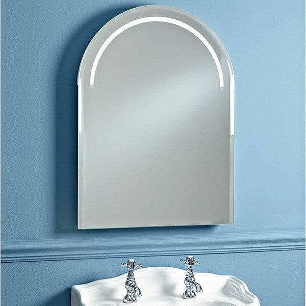Phoenix Balmoral Traditional Arched Bathroom Mirror with Lights