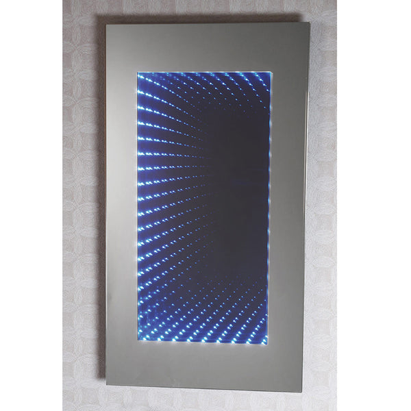 Phoenix tunnel effect mirror with LED lights