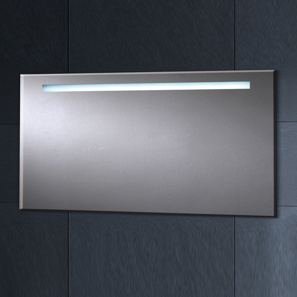 Phoenix Pluto Large Rectangular Heated Demist LED Bathroom Mirror