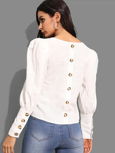 BUTTON DETAIL SOLID TOP
