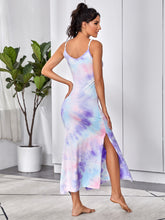 Load image into Gallery viewer, Tie Dye Split Hem Cami Dress