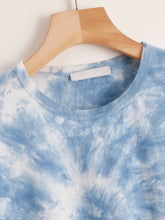 Load image into Gallery viewer, Boxy Tie-Dye Wash Tee