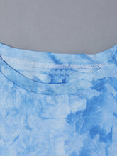 Load image into Gallery viewer, Tie Dye Tropical Print Tee