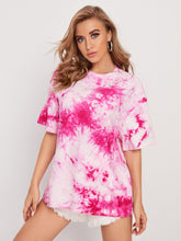 Load image into Gallery viewer, SHEIN Tie Dye Oversized Tee