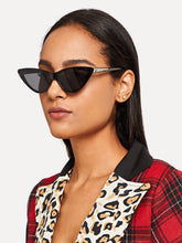 Load image into Gallery viewer, LEOPARD FRAME CAT EYE SUNGLASSES
