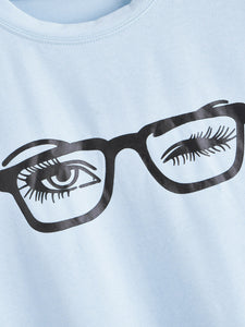 EYE PRINT SHORT SLEEVE TEE