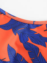 Load image into Gallery viewer, TROPICAL PRINT LONG SLEEVE TWO PIECE SWIMWEAR