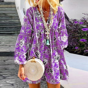 AUTUMN BOHO DRESS