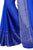 Sophisticated Navy Blue Chiffon Designer Saree