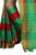 Extraordinary Green Cotton Silk Designer Saree