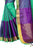 Demanding Rama And Purple Cotton silk Designer Saree