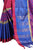 Mind-blowing Pink And Blue Cotton Silk Designer Saree