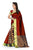 Flaunt Red Cotton Silk Designer Saree