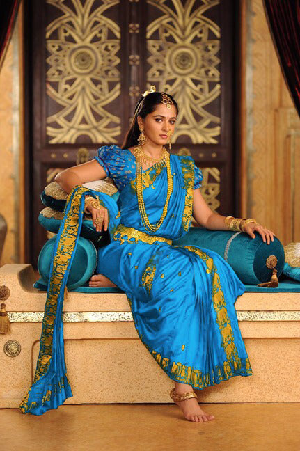 Graceful Color Sky Blue  Joya silk Fancy Saree