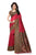 Attractive Red Mysore Art Silk Saree
