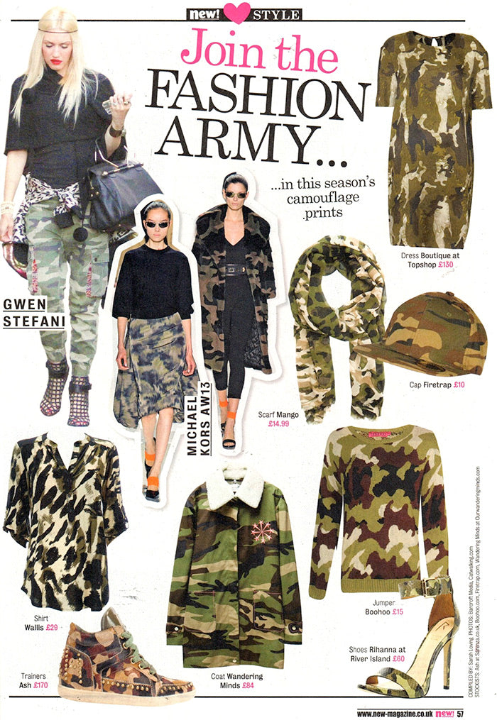 New 'fashion army' feature