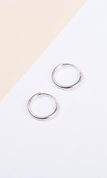 Creol Earrings Silver