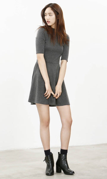 Sinsa high neck skater dress