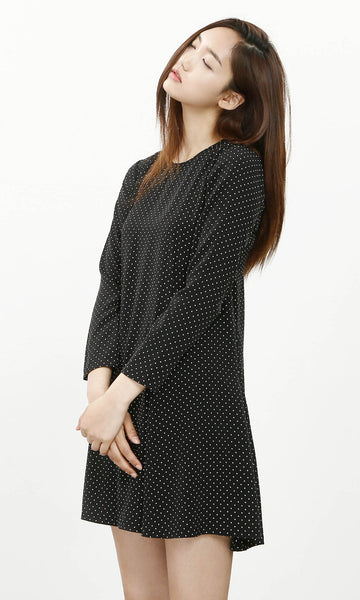 Oh Easy dotted a-line dress