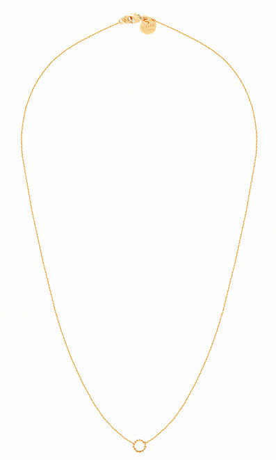 Queen gold necklace