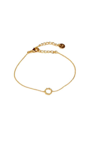 Gold Plated Queen Bracelet