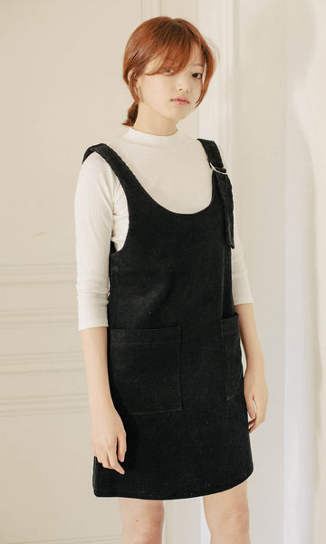 Savannah corduroy pinafore dress