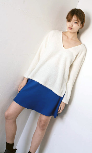 Hygge V-neck knit ivory