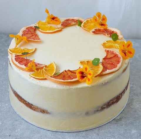 Candied Fruits Semi Naked cake (From £55)