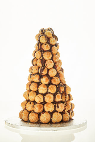 Chocolate Croquembouche Tower