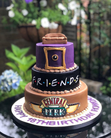 Friends Fondant Cake (From £175)