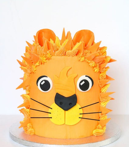 Lion Buttercream Cake (From £70)