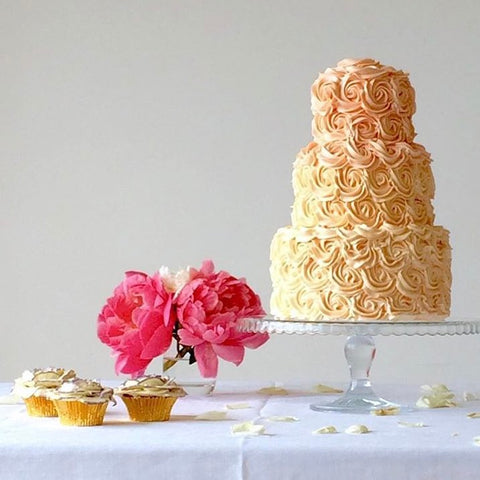 Ombre Buttercream Wedding Cake (From £350)