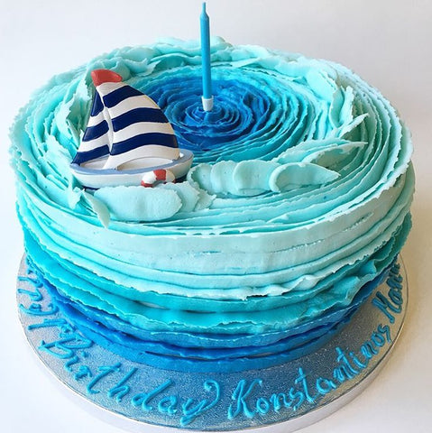 CLICK HERE TO DESIGN YOUR OWN OMBRE CAKE Ombre Birthday Cake