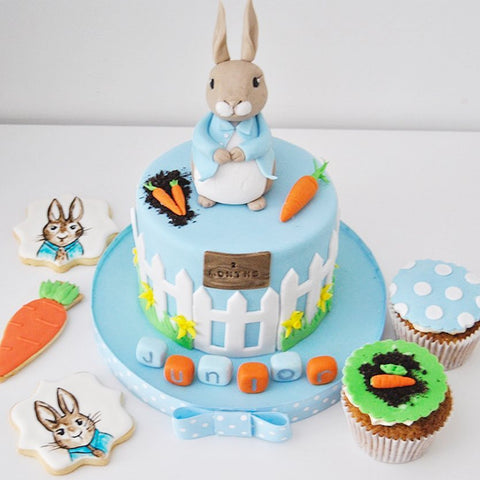 Peter Rabbit Fondant Cake (From £150)