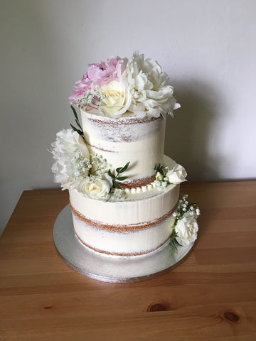 Floral Wedding Cake  - MY BAKER