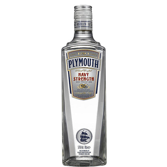 Plymouth Navy Strength 100 Proof Gin 70cl