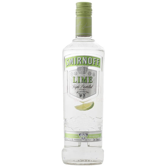 Smirnoff Lime Flavour Russian Vodka 70cl