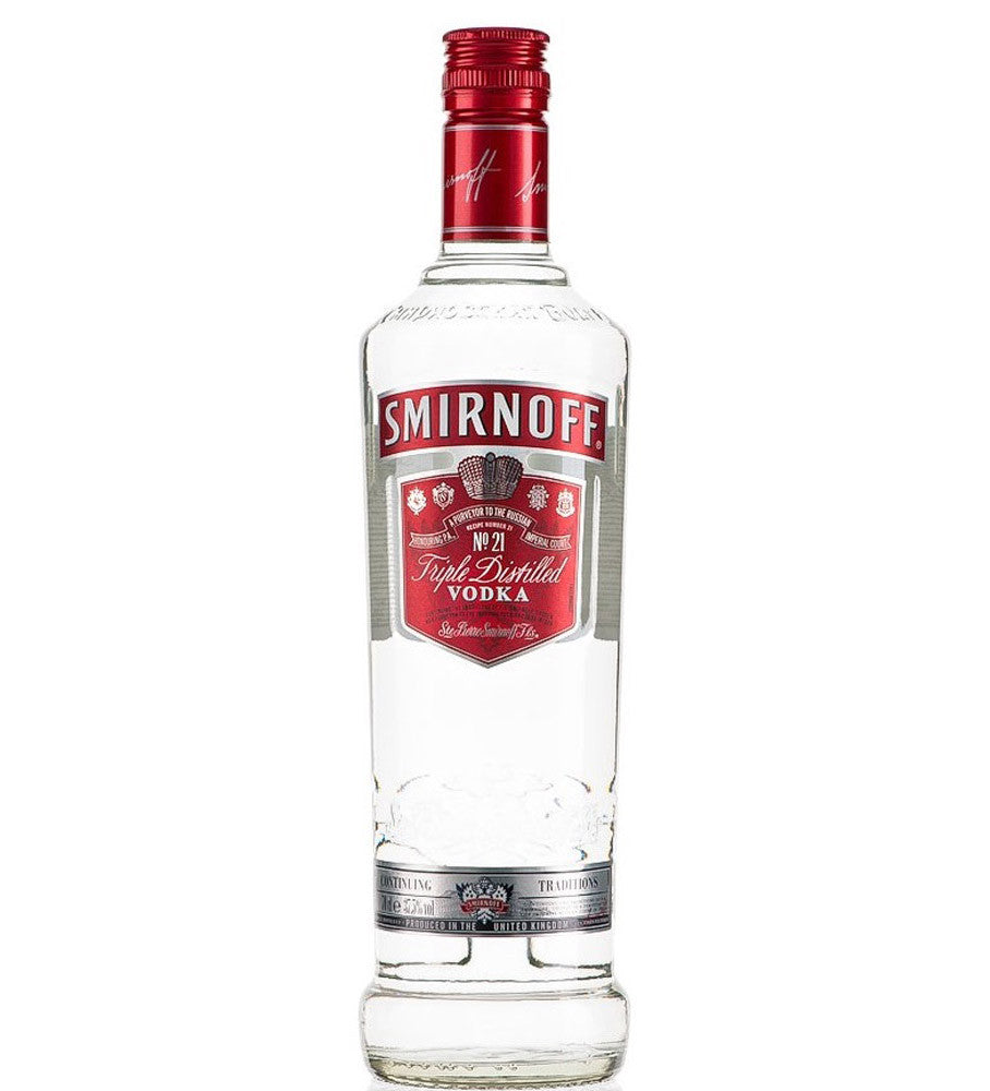 Smirnoff Red Label Russian Vodka 70cl