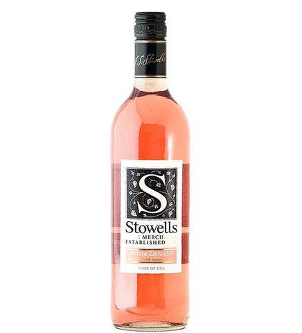 Stowells of Chelsea USA White Zinfandel Rose Wine 75cl
