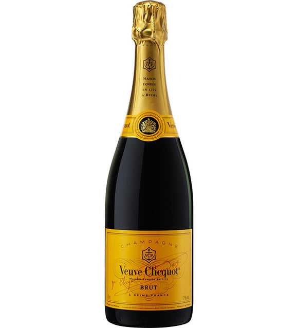 Veuve Clicquot Ponsardin Yellow Label Brut NV Champagne 75cl