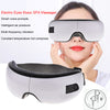 Image of Foldable Eye Massager with Bluetooth Wireless USB Rechargeable mode