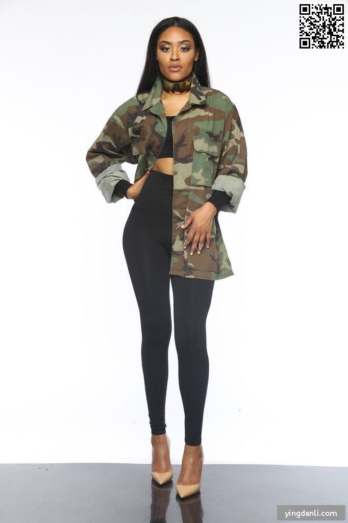 US ARMY Camo Print Long Sleeve Coat - sportinglifes