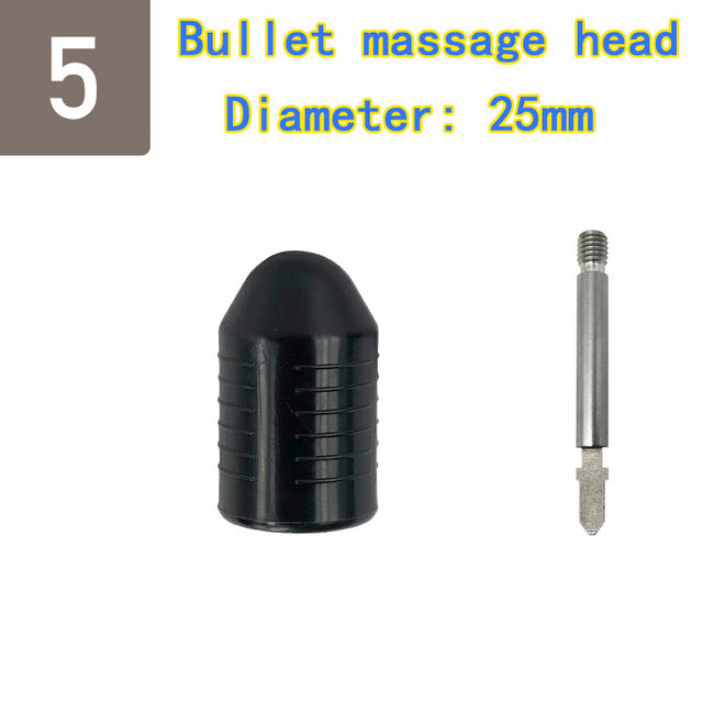 Massage head collection Replaceable percussion instrument deep massage gun  body muscle massager - yingdanli.1