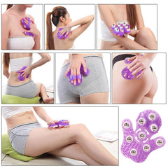 Anti-Cellulite Muscle Pain Relief Relax Massager For Neck Back Shoulder Buttocks Face