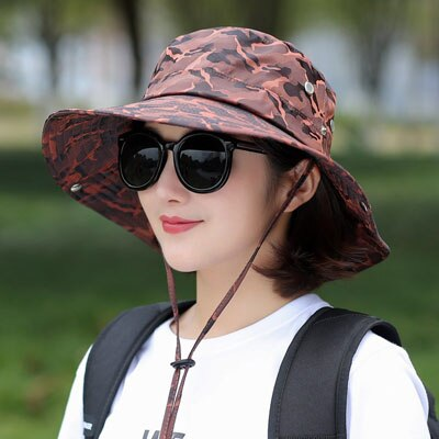 Sun UV Protection Long Large Wide Brim Hat for Hiking Outdoor - sportinglifes