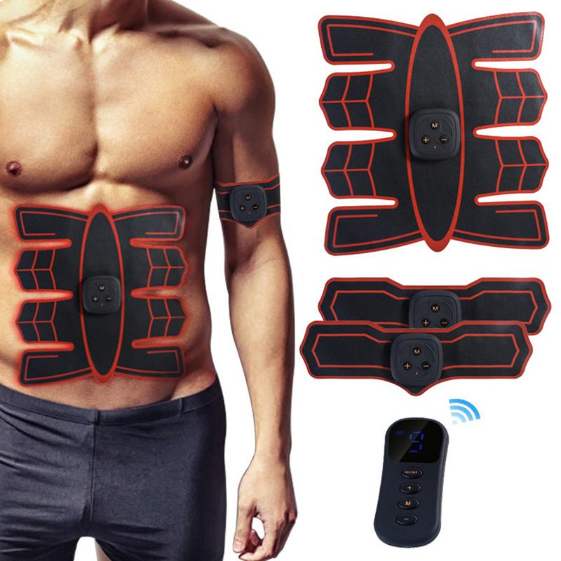 Rechargeable Wireless Abdominal Muscle Belt Training Equipment - sportinglifes