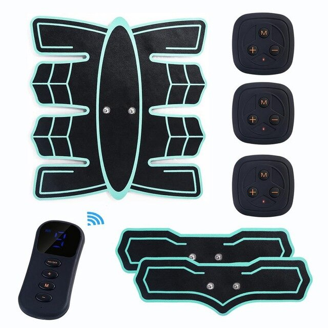 Rechargeable Wireless Abdominal Muscle Belt Training Equipment - yingdanli.1