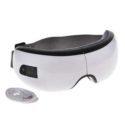 Foldable Eye Massager with Bluetooth Wireless USB Rechargeable mode - sportinglifes