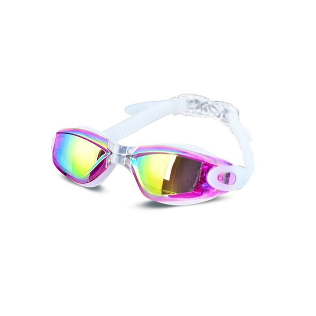 Electroplating UV Waterproof Anti fog Swimwear Eyewear - sportinglifes